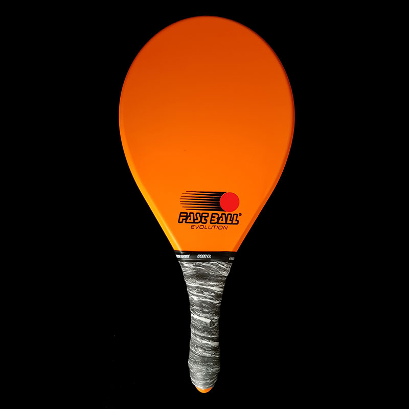 Raquete de Frescobol Fastball Laranja Evolution - RE023