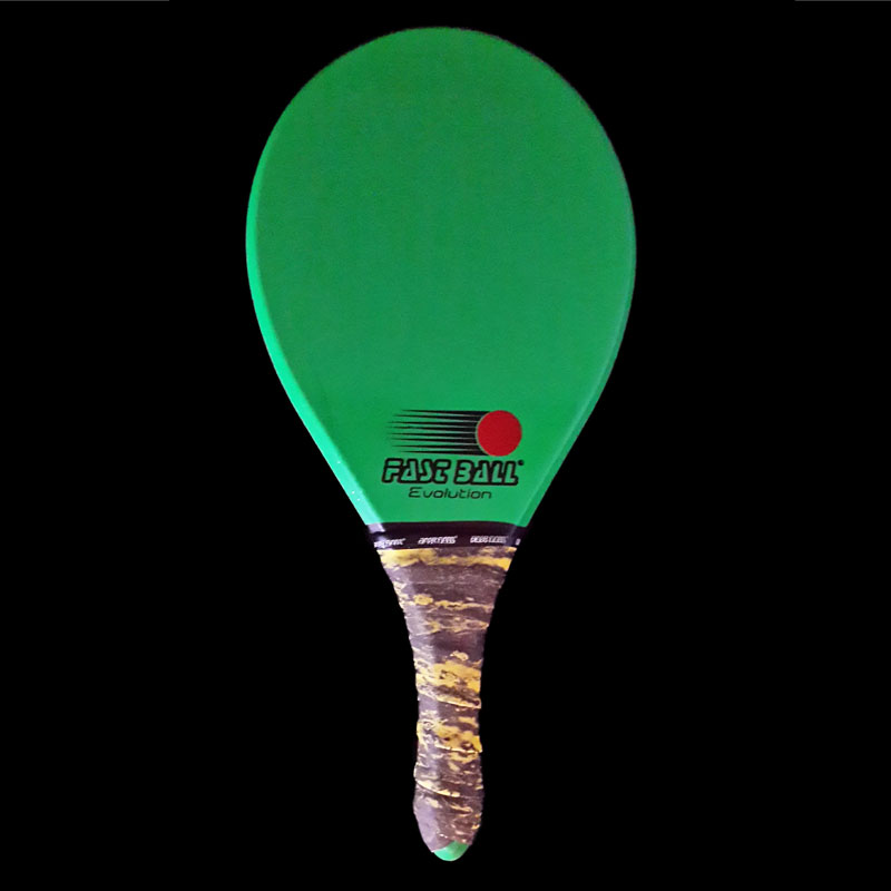 Raquete de Frescobol Fastball Verde Evolution - RE026